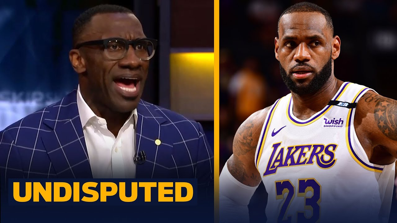 Skip & Shannon react to LeBron & the Lakers' Game 1 loss to the Phoenix Suns   NBA   UNDISPUTED