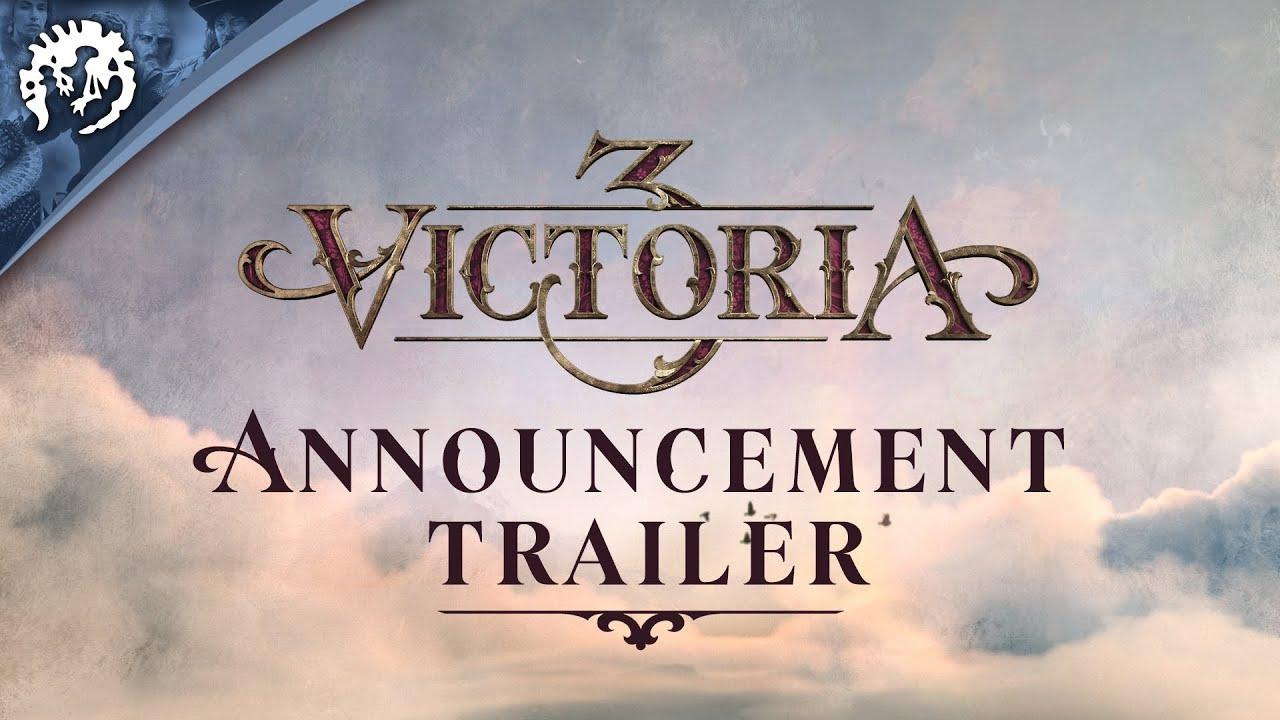 Victoria 3 – Announcement Trailer