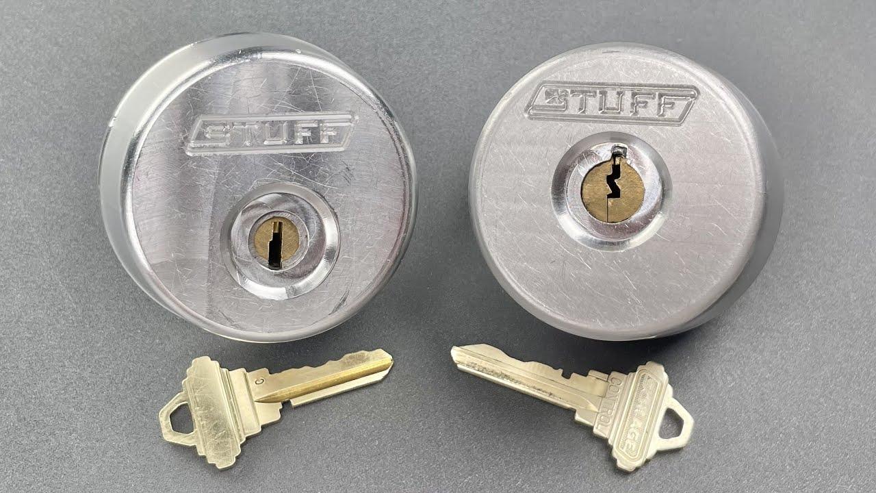 [1299] Unpickable Locks From Stuff Made Here