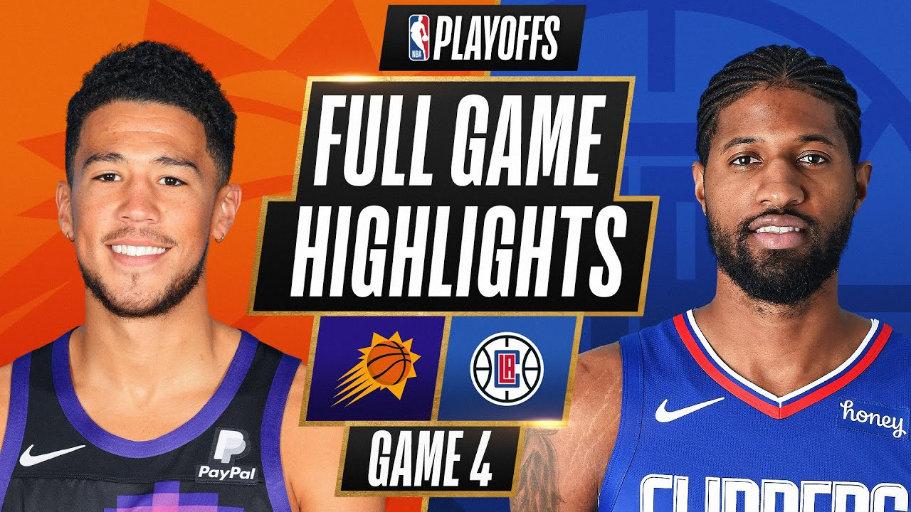 #2 SUNS at #4 CLIPPERS   FULL GAME HIGHLIGHTS   June 26, 2021