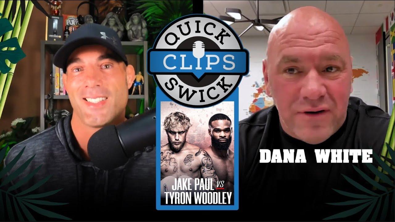 Dana predicts Tyron Woodley vs Jake Paul | Mike Swick Podcast