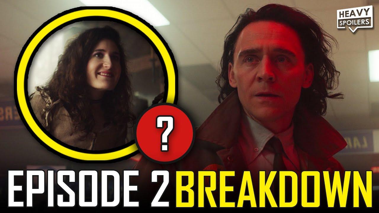 LOKI Episode 2 Breakdown & Ending Explained Spoiler Review   Marvel Easter Eggs & Things You Missed
