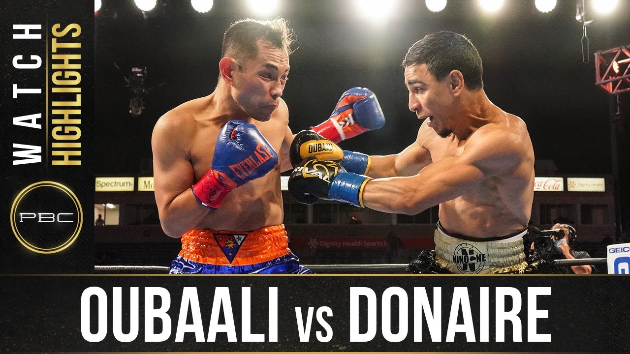 Oubaali vs Donaire HIGHLIGHTS: May 29, 2021 | PBC on SHOWTIME