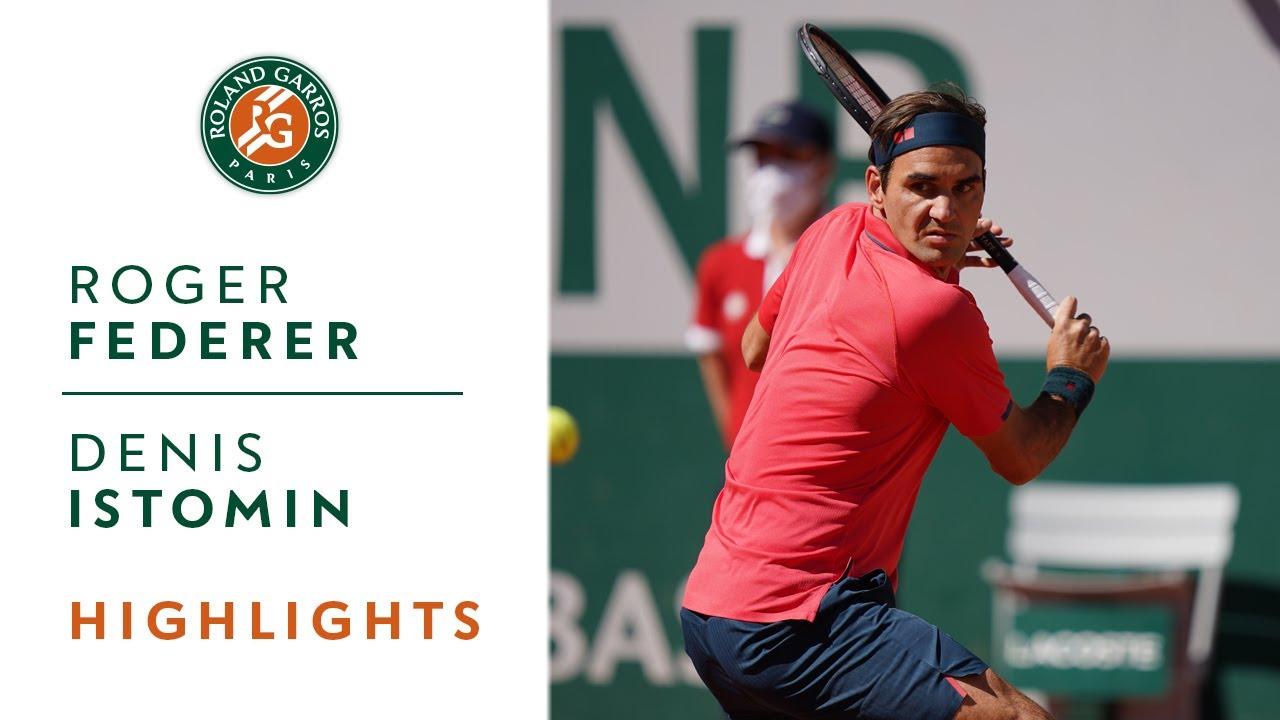 Roger Federer vs Denis Istomin – Round 1 Highlights I Roland-Garros 2021