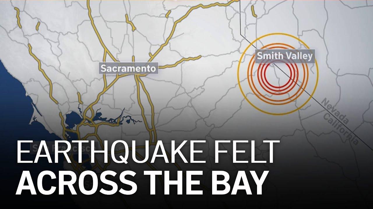 6.0 Sierra Nevada Earthquake Felt Across Bay Area