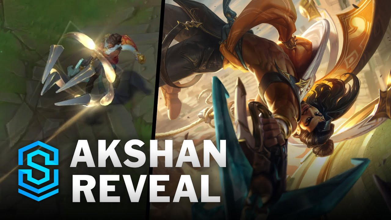 Akshan, the Rogue Sentinel Ability Reveal   New Champion