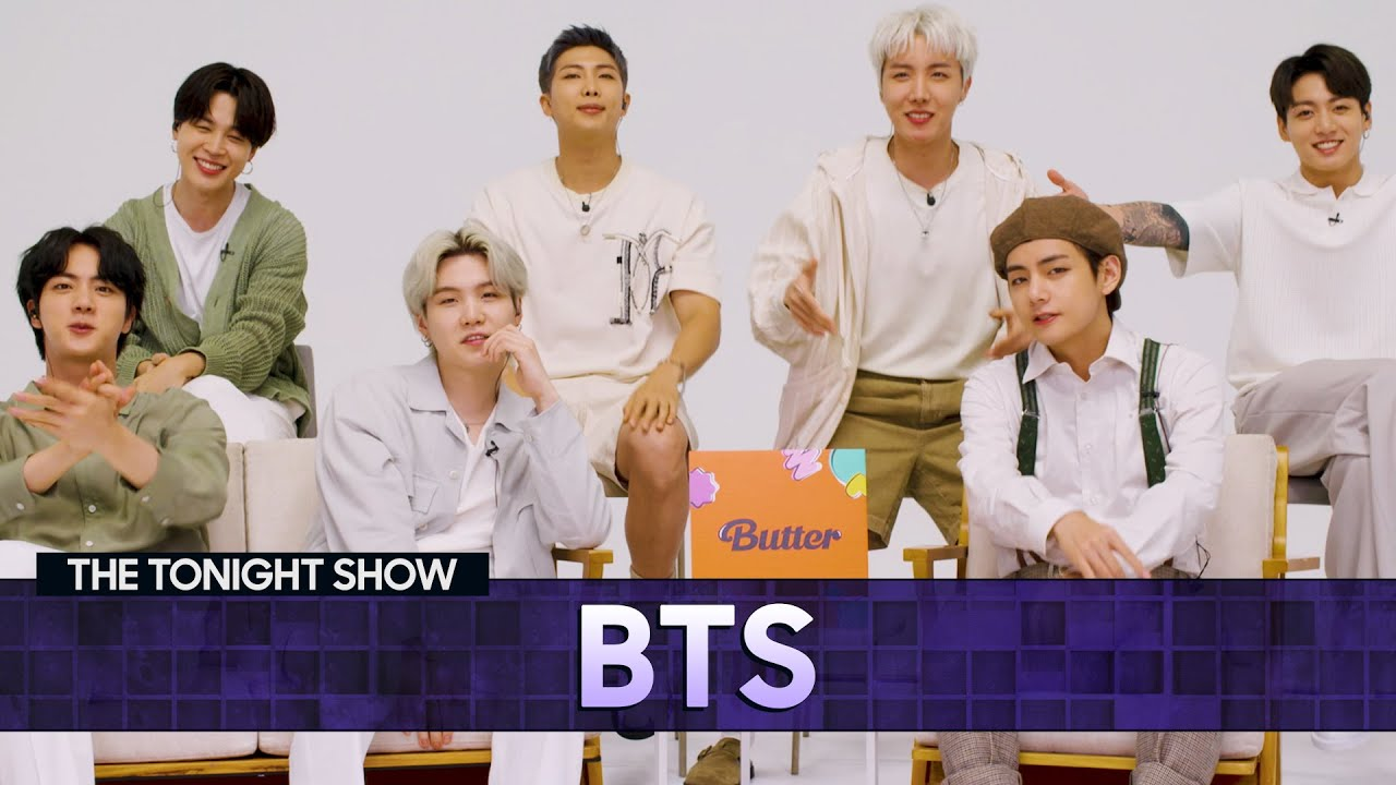 BTSDisheson Touring and Working with Ed Sheeran   The Tonight Show Starring Jimmy Fallon