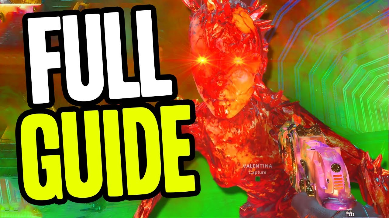 COLD WAR ZOMBIES – FULL MAUER DER TOTEN EASTER EGG TUTORIAL! (EASY GUIDE)