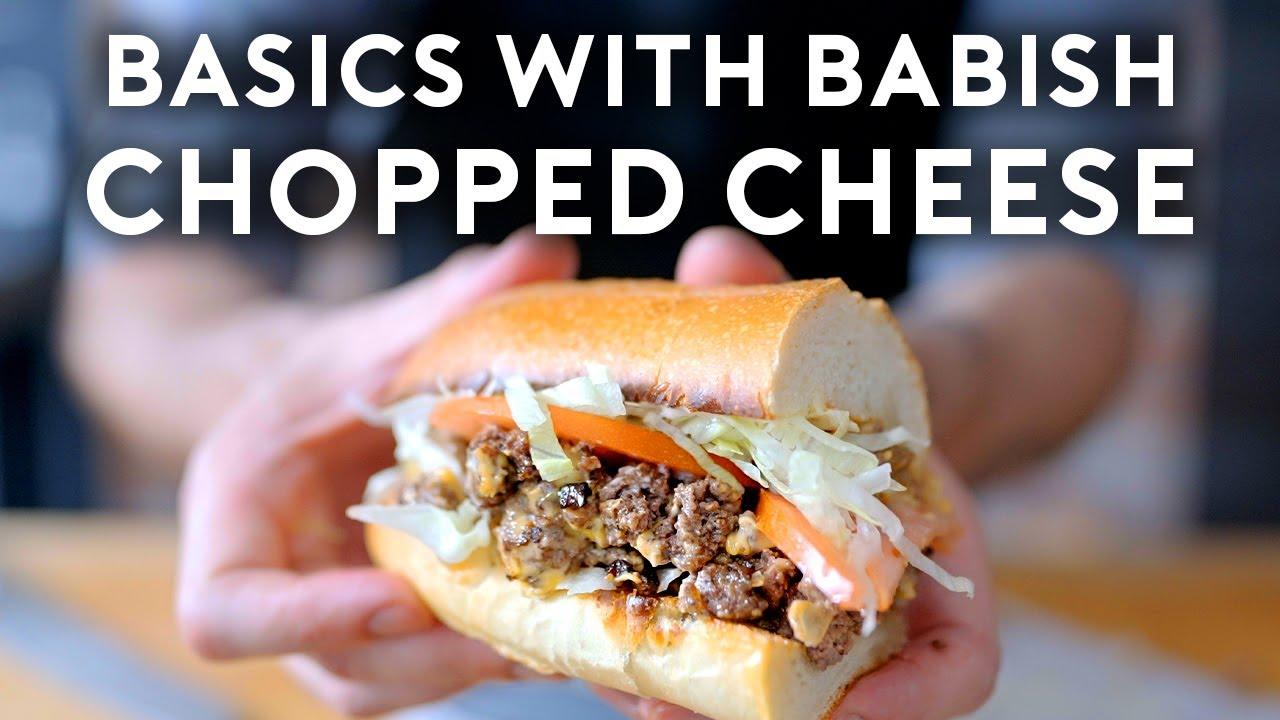 Chopped Cheese | Basics with Babish