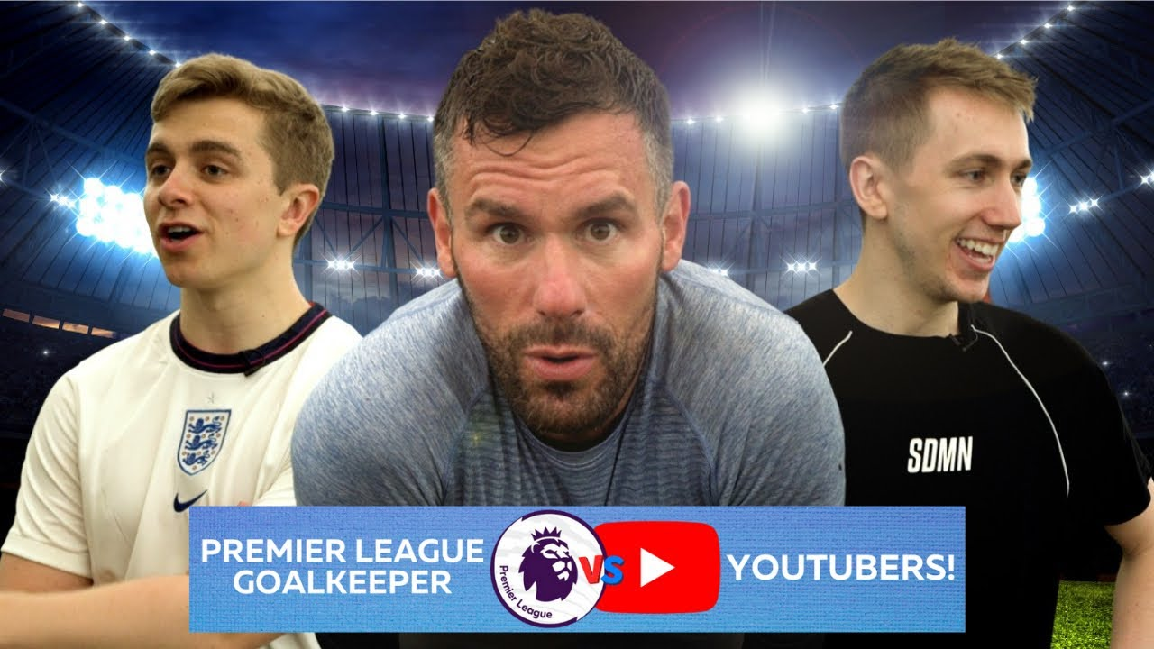 Chris MD & Miniminter VS Premier League Goalkeeper!!! | Ben Foster – The Cycling Gk