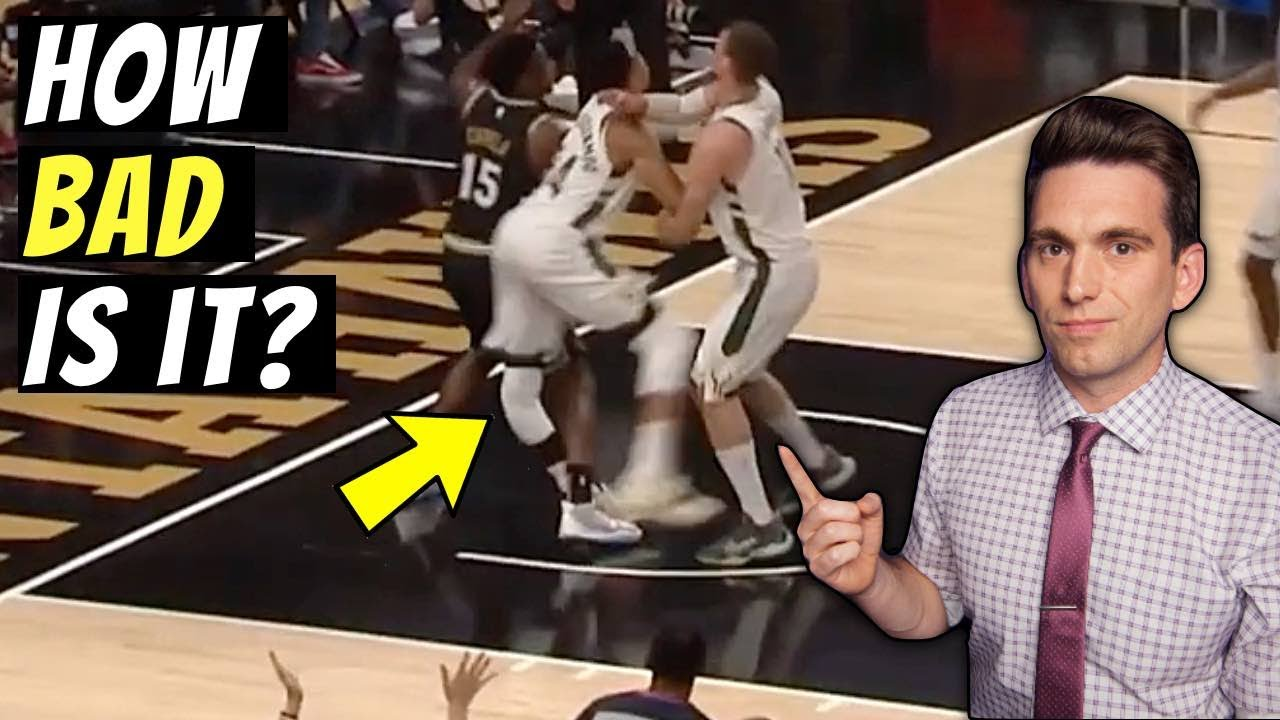 Doctor Reacts to Giannis Antetokounmpo SEVERE Knee Injury & Explains What Happened
