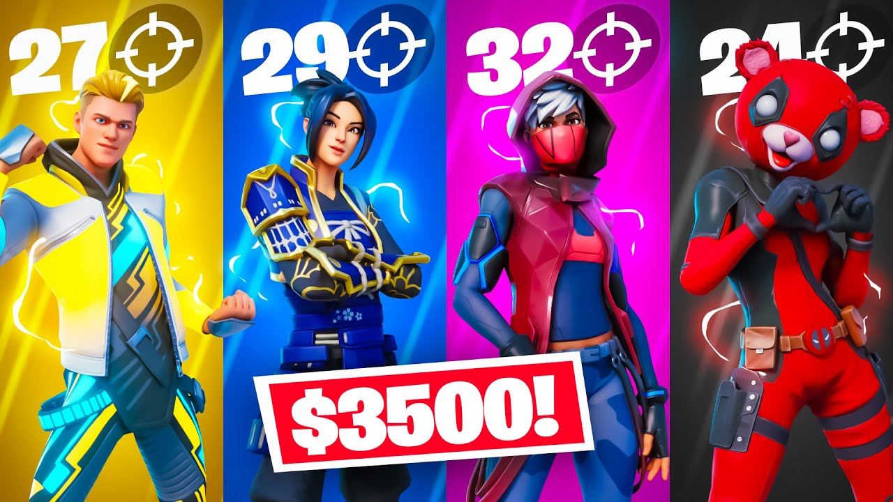 Fortnite but the Most Eliminations = $3500