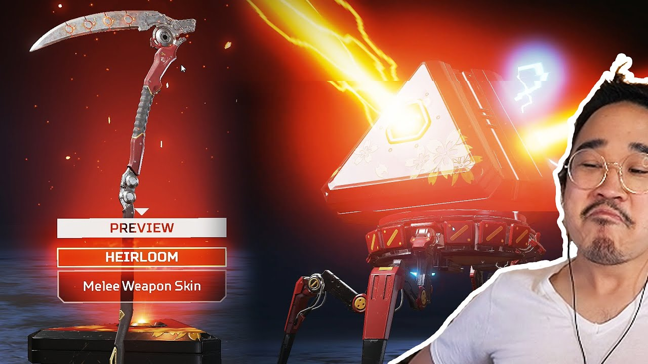 I UNBOXED THE NEW REVENANT HEIRLOOM!! (Genesis Collection Event – Apex Legends)