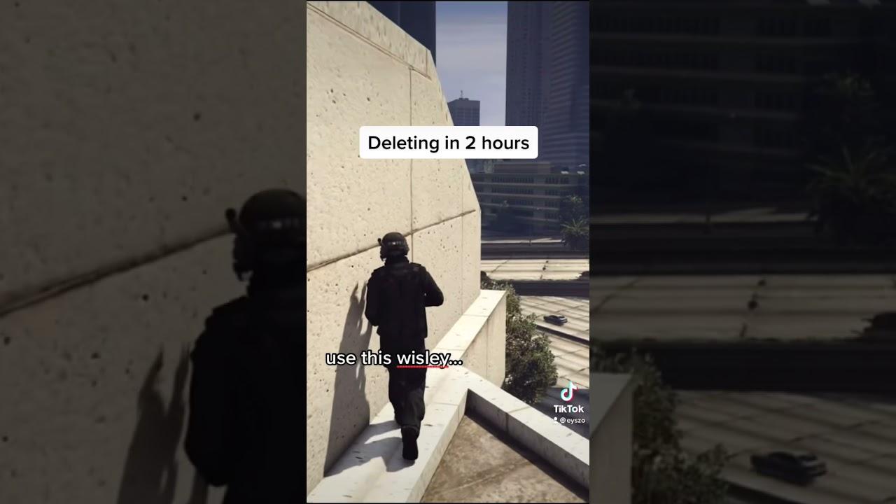 Insane glitch in GTA 5 #shorts