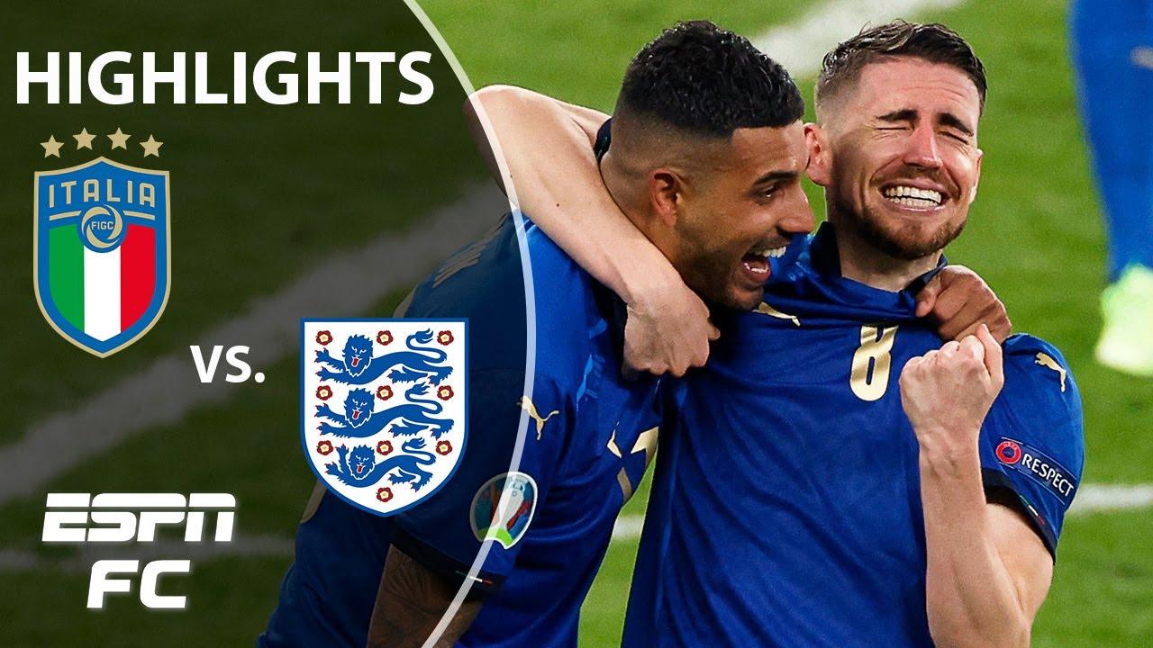 Italy WINS Euro 2020 on PENALTIES vs. England!   Highlights   ESPN FC