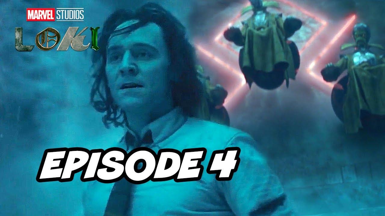 Loki Episode 4 Marvel TOP 10 Breakdown Easter Eggs and Ending Explained