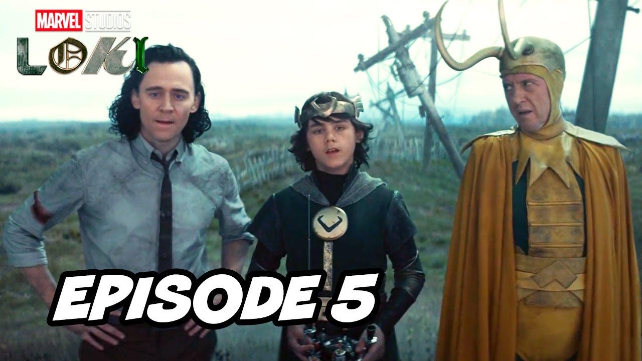 Loki Episode 5 Marvel TOP 10 Breakdown Easter Eggs and Ending Explained