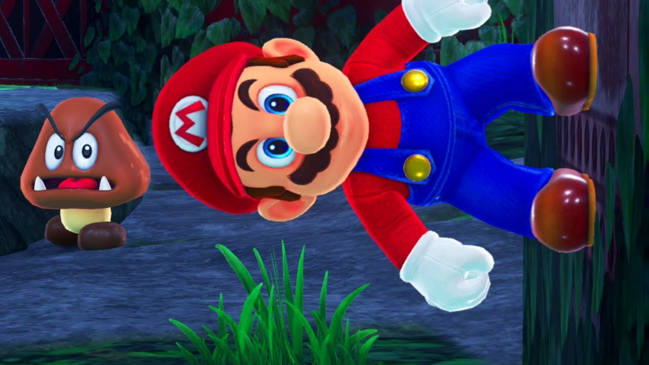 Mario Odyssey but Gravity changes randomly