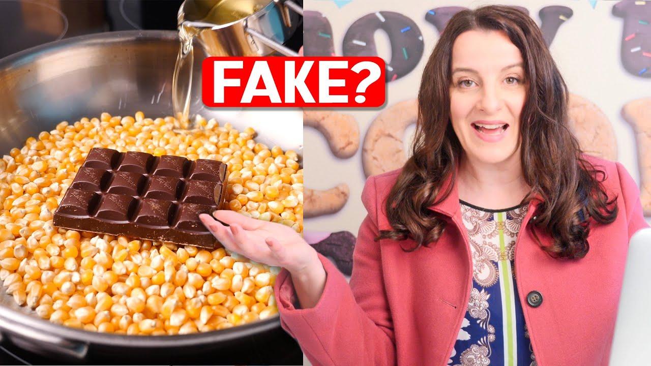 "NEW Debunking ""Organic Food"" Viral Videos   How To Cook That Ann Reardon"