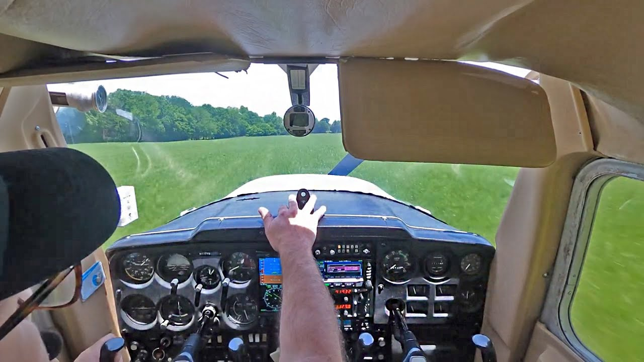 Student Pilot Loses Engine | Cockpit View + ATC | by Brian Parsley
