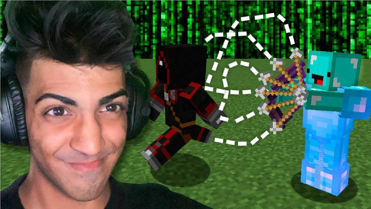 I Troll BadBoyHalo with FACECAM in Minecraft…